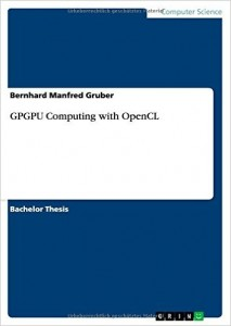 Buy the GPGPU Computing with OpenCL book