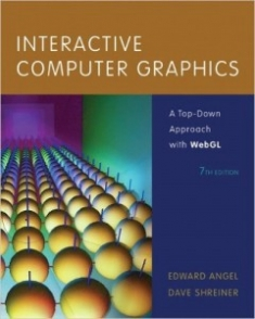 Buy the Interactive Computer Graphics: A Top-Down Approach with WebGL (7th Edition) book