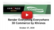 Catching up after the Khronos 3D Commerce Working Group Webinar - Q&A