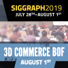 Join Khronos for their Inaugural 3D Commerce BOF at SIGGRAPH!