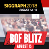 Khronos at SIGGRAPH 2018–Next week!