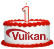 Happy 1st Birthday Vulkan