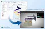 COMSOL Multiphysics Supports glTF File Export for 3D Simulation Results