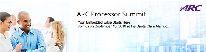 ARC Processor Summit Silicon Valley
