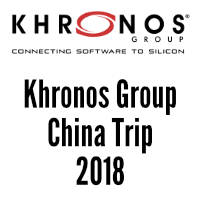 Learn more about 2018 Khronos Group China Trip