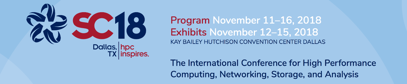 Supercomputing 2018 Banner