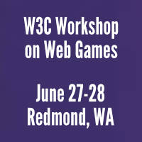 Learn more about 2019 W3C Workshop on Web Games