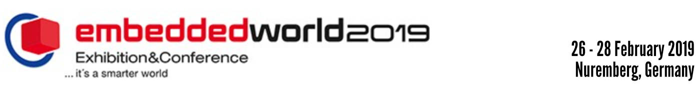 2019 Embedded World - The Khronos Group Inc