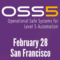Learn more about 2019 Operational Safe Systems for Level 5 Automation