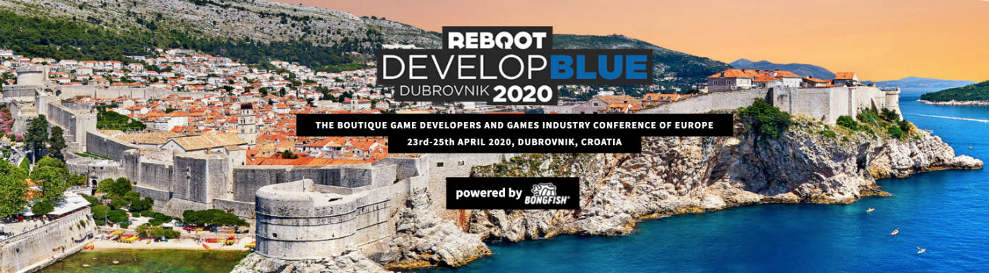 Reboot Develop Blue Banner