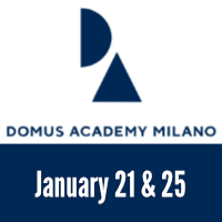Learn more about Domus Academy Workshop 2021