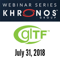 Learn more about Webinar: glTF 2.0–Status and Outlook