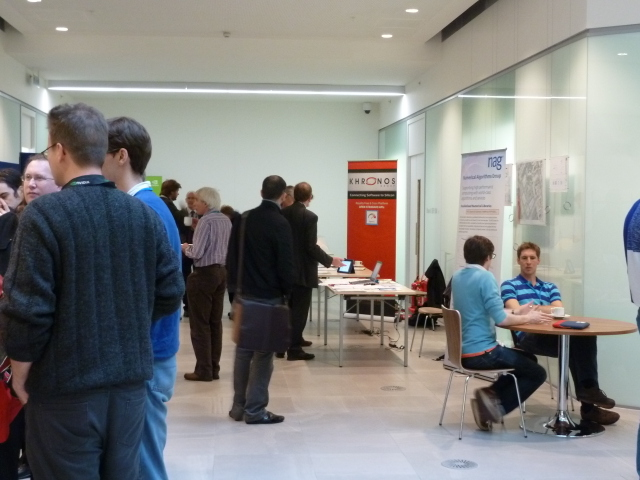 The Khronos table at UK Manycore Developer Conference 2013