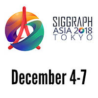 Learn more about 2018 SIGGRAPH Asia
