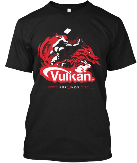Vulkan Shirt at GDC